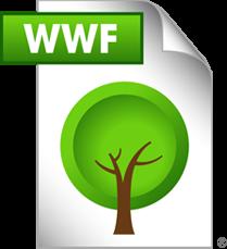 WWF Dateiformat