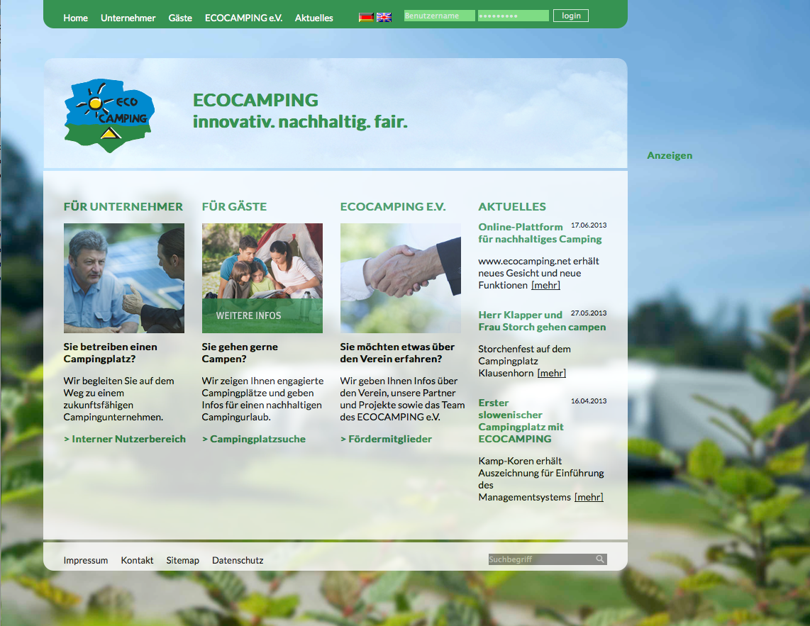 ECOCAMPING-Webseite-Relaunch