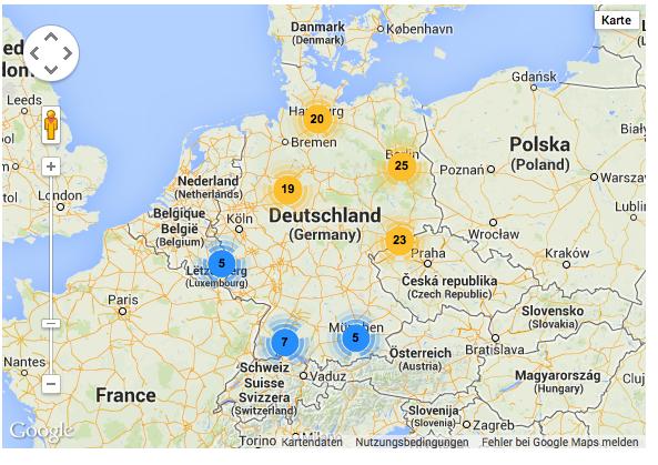 Karte der verantwortung Deutschland