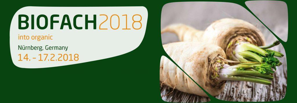 BIOFACH 2018 – die Fachmesse für Bio-Lebensmittel