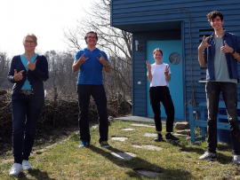 Bildnachweis: naturblau+++ (v.l.n.r.: Andrea Franke, Katrin Kassel, Ralph J. Schiel, Mikel Jahn Diez de Arizaleta)