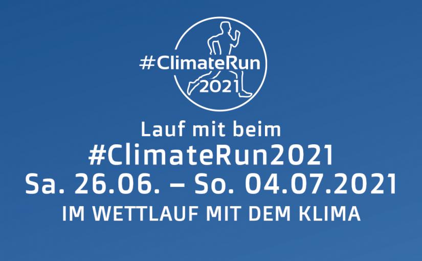 Lauf mit beim ClimateRun2021