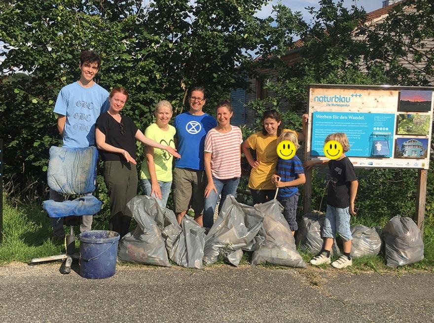 Dreck weg! – Müllaufräumaktion mit dem Umweltzentrum Stockach