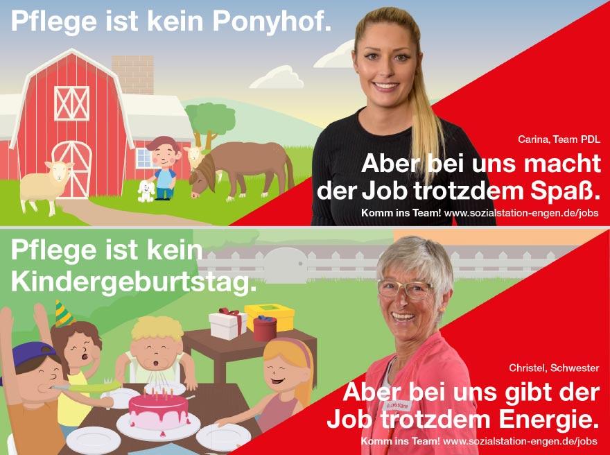 Employer-Branding Kampagne für Sozialstation Oberer Hegau