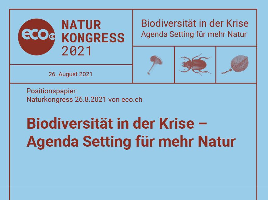 Positionspapier eco CH - Naturkongress 2021